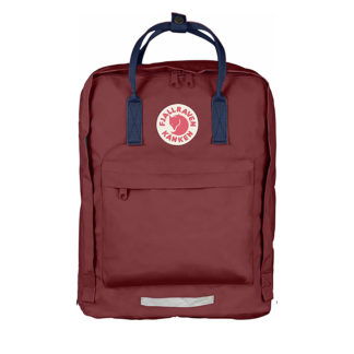 Рюкзак Kanken Big Ox Red-Royal Blue спереди